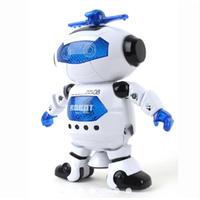 Robot thông minh xoay 360 độ trắng V99