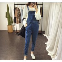 Quần yếm jean nữ thời trang