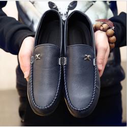Giày lười da X nhập khẩu Lâm Anh