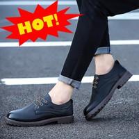 Giày sneaker da đế cao GLK113