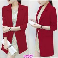 Áo khoác nữ Blazerform dài sành điệuVK111 - V145