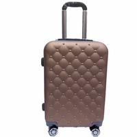 vali nhựa du lịch 24inch năm 2018chấm bi polkadots