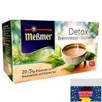 Trà thanh lọc cơ thể Meßmer Detox 20 gói - Xách tay Đức