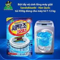 Sỉ 4 gói bột tẩy lồng máy giặt