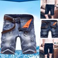Quần short jeans nam cao cấp-QS11A