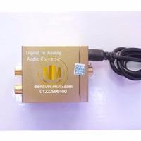 Bộ chuyển optical to AV - 3.5mm tặng dây optical và dây av