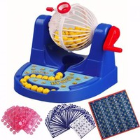 Bộ Đồ Chơi Lô Tô Bingo Trí Tuệ Cho Bé Và Cả Nhà - đồ chơi quay xổ số