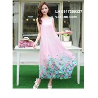 Váy maxi đầm maxi hàng nhập L12MX01