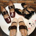Giày bệt nữ có đai