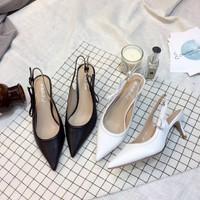Giày cao gót hở gót