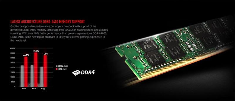 Laptop Gaming MSI GE63VR 7RE-088XVN Raider Core i7-7700HQ/Free Dos (15.6 inch) - Black - Hàng Chính Hãng