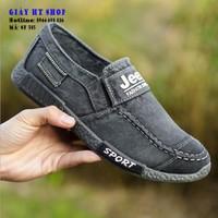 Giày lười nam vải jeans SP-505