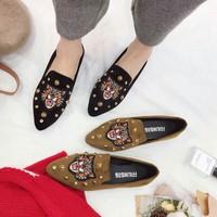 giày búp bê hổ