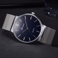 Đồng hồ nam dây lưới kiểu ôm tay thiết kế Italy Gonewa #4