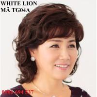 tóc giả nữ trung niên kèm tặng lưới  - TG04A