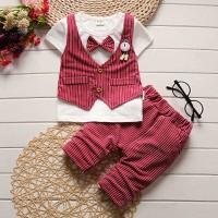 Bộ quần áo bé trai quần ngắn bé 0- 2 tuổi