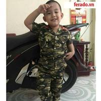 bộ đồ lính trẻ em