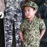 bộ quần áo lính trẻ em
