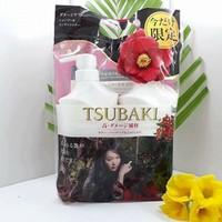 Bộ Dầu Gội Tsubaki Màu Trắng phục hồi tóc hư tổn