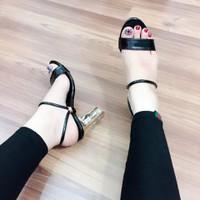 Giày sandal cao gót nữ xinh sắn