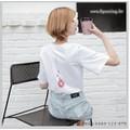 Áo phông trắng hình sau lưng AP1805