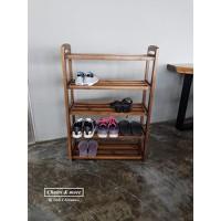 Kệ giày,dép gỗ tự nhiên  BS