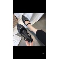 giày búp bê đá kết