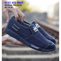Giày lười nam vải jeans SP-205