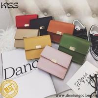 Ví Cầm Tay Mini KISS Style Hàn Quốc