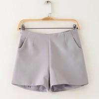 quần short nữ cạp cao hàng nhập khẩu QT09