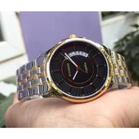 Đồng hồ nam siêu mỏng Sunrise DM781SWA kính Sapphire - Dây demi