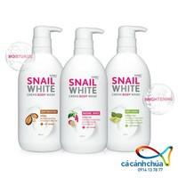 Sữa tắm dưỡng trắng Snail White hương trái 500ml - Thái Lan