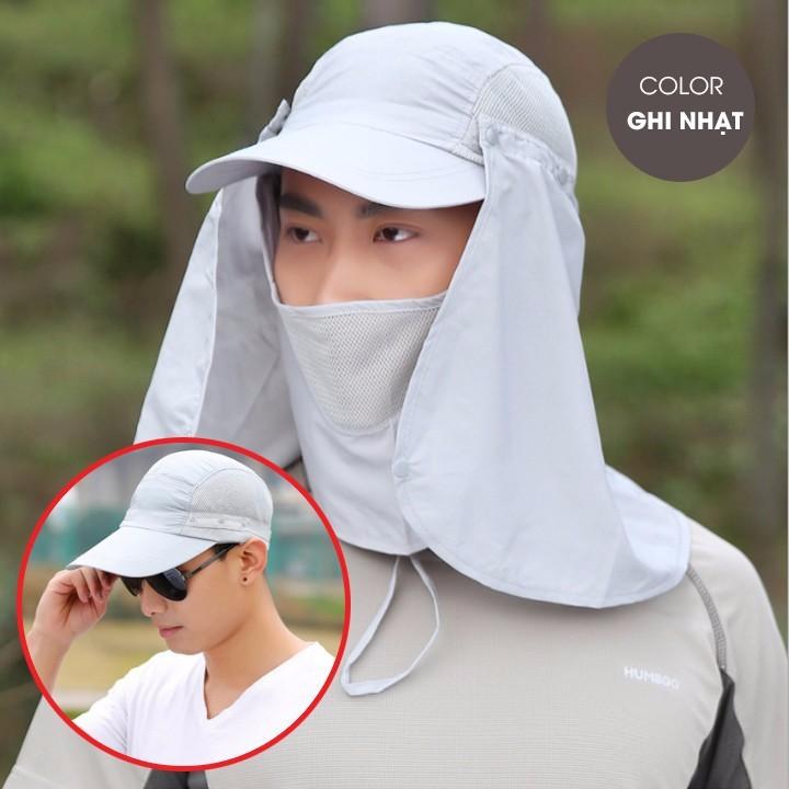 Mũ đi câu - nón chống nắng
