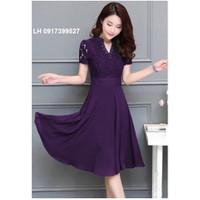 Đầm maxi váy maxi đầm xòe VINTAGE L12VN39