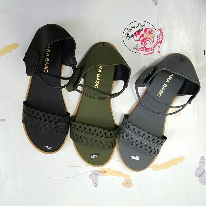 Giay Sandal nu Zara Basic mau 3 tai Alogiayxinh