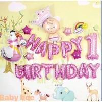 Bóng sinh nhật cho bé gà Ms05, 06