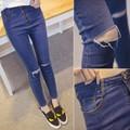 Quần Jeans Nữ rách gối Cao Cấp