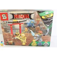 Đồ chơi lắp ráp Ninja