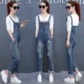Q032149 - Set áo và quần yếm jean nữ - giá 850k