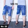 Quần Short Jeans nam cao cấp ms 15