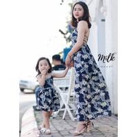 Lily maxi - đầm maxi đi biển cho mẹ và bé - váy mẹ