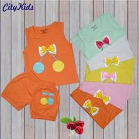 SET 5 bộ Quần áo trẻ em Cherry 5 màu