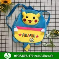 Balo pikachu ngộ nghĩnh cho bé chất bông cực mịn