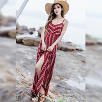 Váy maxi - đầm maxi đi biển - váy nữ đi biển