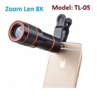 Ống kính Tele 8X cho điện thoại, máy tính bảng-TL-05