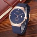 Đồng hồ nam thiết kế ôm tay kiểu dáng sang trọng chạy 3 kim BADACE