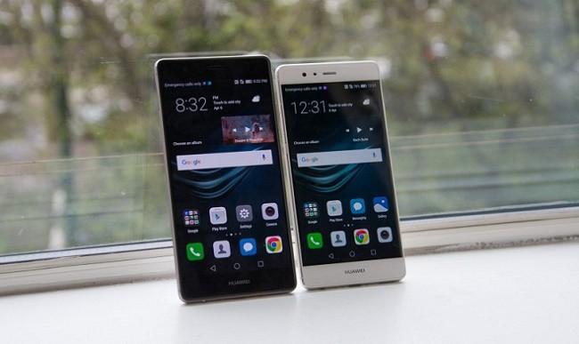 Huawei P9 Plus thiết kế trước