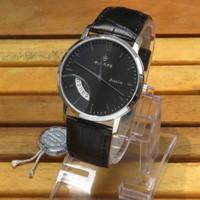 Đồng hồ nam siêu mỏng Sunrise DM783PWA kính Sapphire - Đen