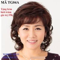 tóc giả nữ tóc giả nữ tóc giả nữ  - TG04A