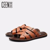 Dép sandal da cao cấp chính hãng CEEN - CT8704